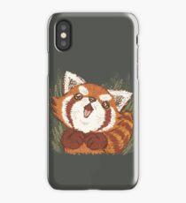 Joy of Red panda iPhone Case/Skin