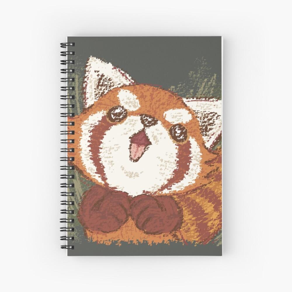 Joy of Red panda Cuaderno de espiral