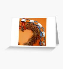 Paper Chain with Heart Greeting Card
