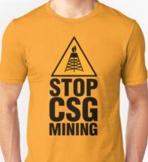 STOP COAL SEAM GAS Unisex T-Shirt