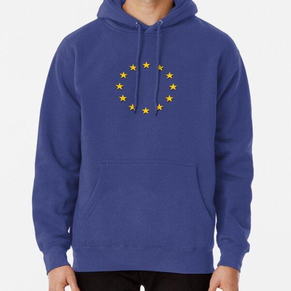 Europe - I Love The European Union ~ EU Flag T-Shirt Drapeau Design Pullover Hoodie