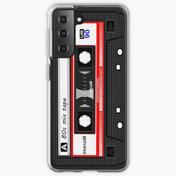 80's Mix Tape Retro Cassette Mobile Phone iPhone Cases Samsung Galaxy Soft Case