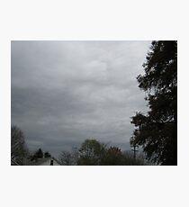 November Skies 9 Photographic Print