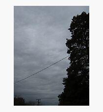 November Skies 10 Photographic Print