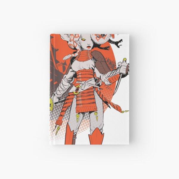 Gorgone samouraï Carnet cartonné