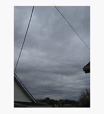 November Skies 11 Photographic Print