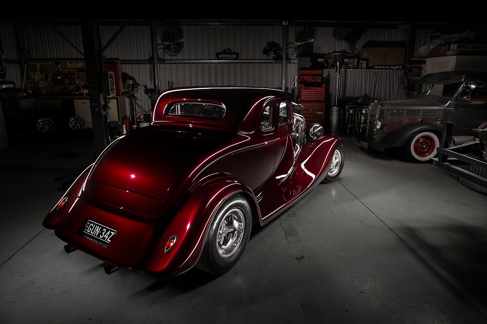 Norm Corte's 1934 Ford Coupe by HoskingInd