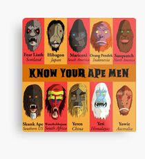 Know Your Ape Men Metal Print