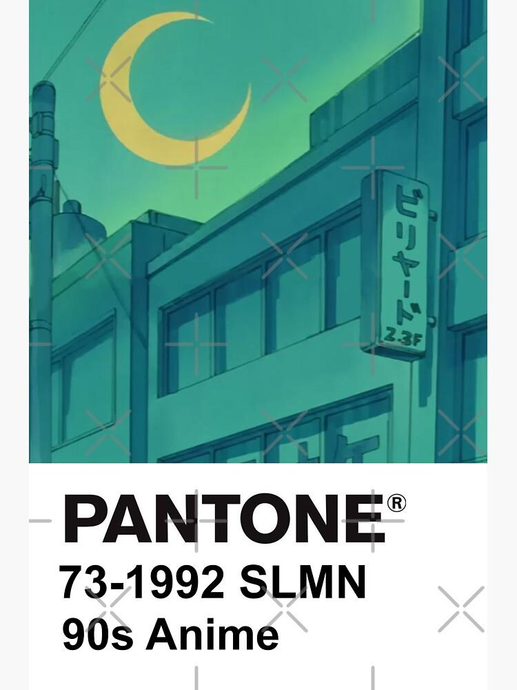PANTONE 90s Anime (2) by PeachPantone
