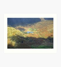 Blea Tarn...The Colours Of November Art Print