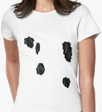 Not a robot Womens Fitted T-Shirt