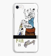 Pain is Beauty iPhone Case/Skin