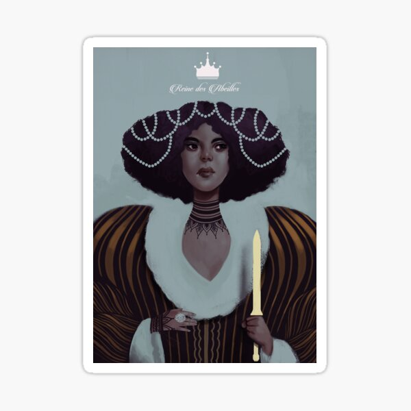 Queen Bee Sticker