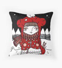 Lumi Pollo Throw Pillow