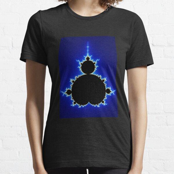 Mandelbrot Set - Blue Essential T-Shirt