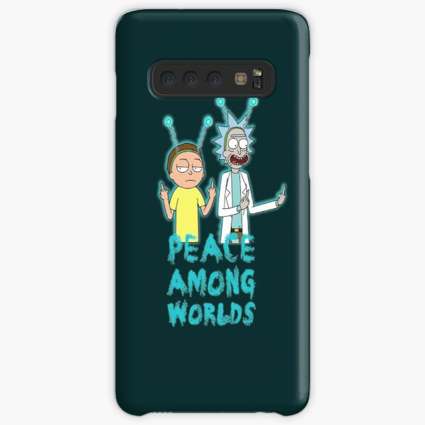 Rick and Morty Peace Among Worlds Samsung Galaxy Snap Case