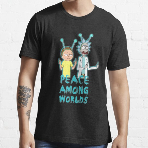 Rick and Morty Peace Among Worlds Essential T-Shirt