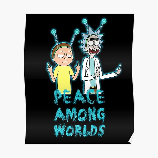 Rick and Morty Peace Among Worlds Poster