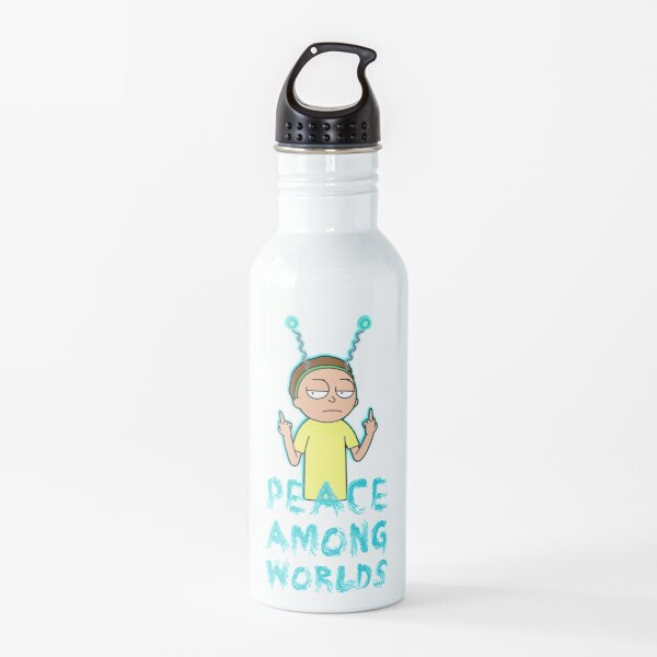 Rick and Morty Peace Among Worlds Water Bottle
