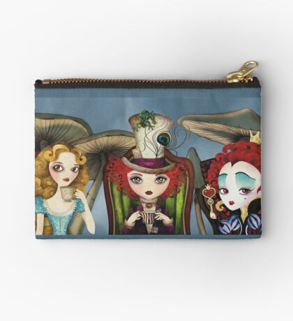 Tea Party Zipper Pouch