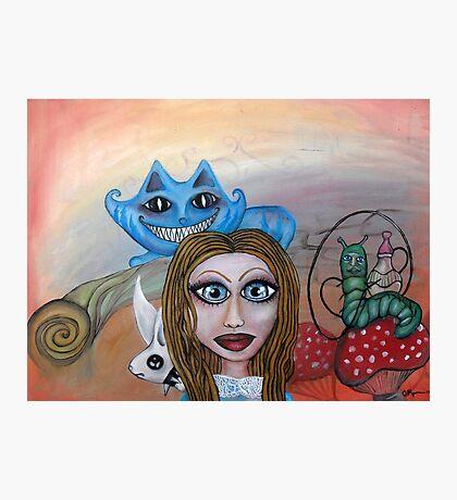 Go ask Alice Photographic Print