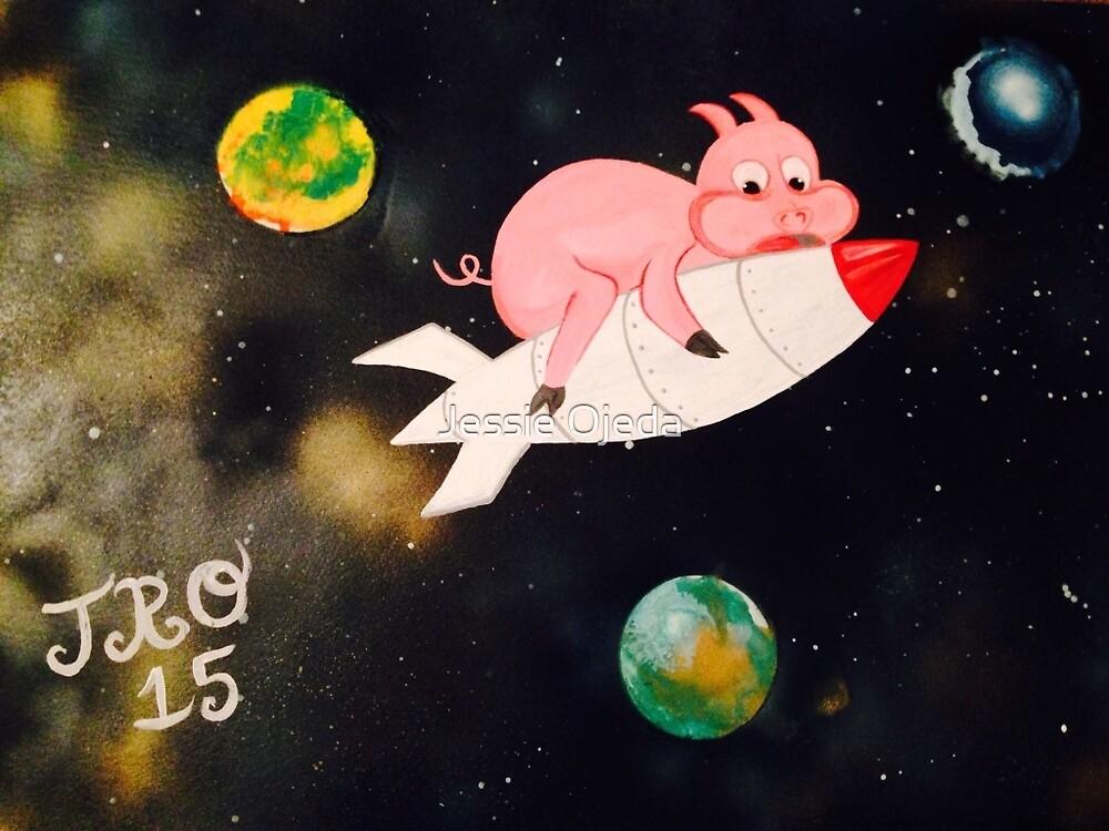Space Piggy JRO by Jessie Ojeda