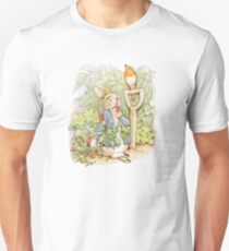 Peter Rabbit Steals Carrots Unisex T-Shirt