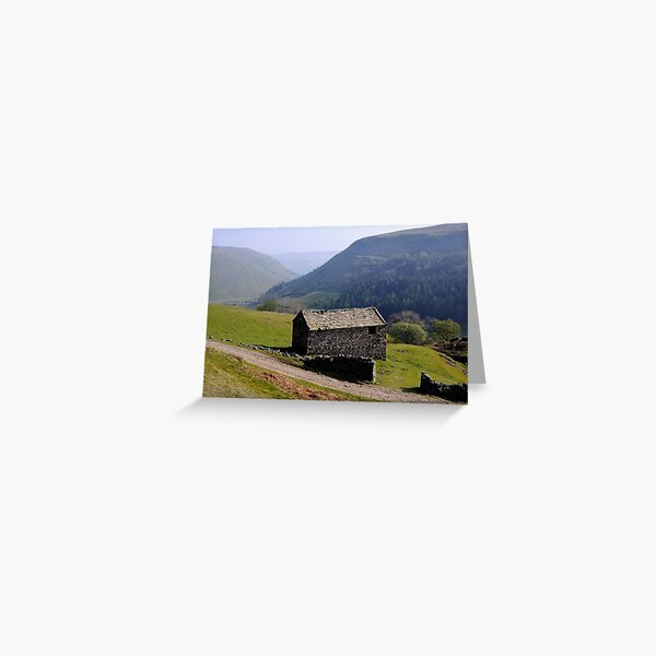 Old Barn, Swaledale - The Yorkshire Dales Greeting Card