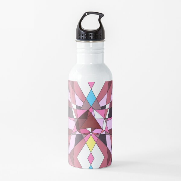 Glass And Gemstones Water Bottle