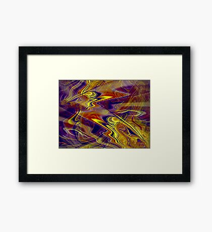 Within an Abstract Framed Print