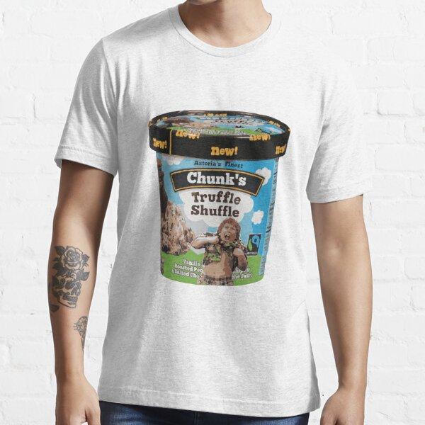 Chunk Truffle Shuffle Eiscreme Essential T-Shirt