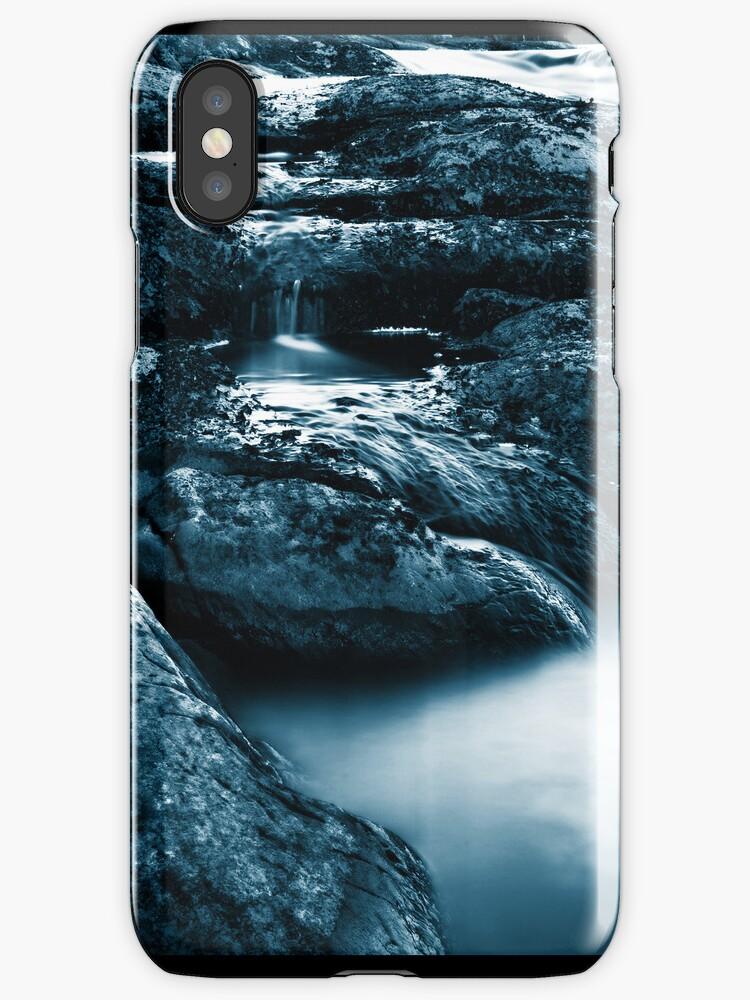 Rapid Flow III (iPhone case) by SunDwn