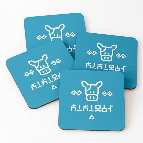 Lon Lon Milk – Classic Hylian Coasters (Set of 4)