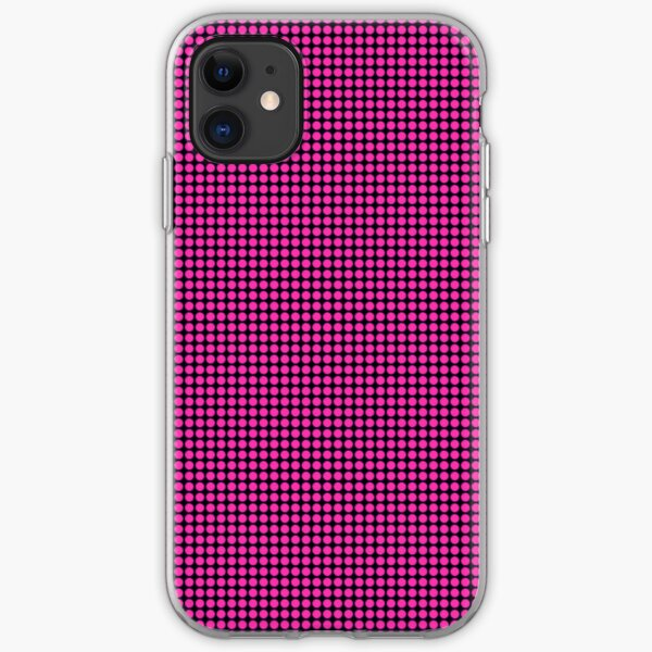 Purple Spots iPhone 4 Case iPhone Soft Case