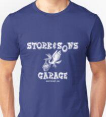 Stork and Sons Garage Dark Unisex T-Shirt