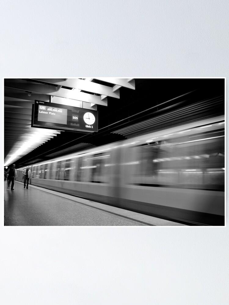 Alternate view of Westendstraße, München Poster