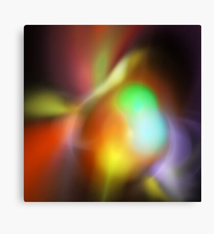 Fluorescence Canvas Print
