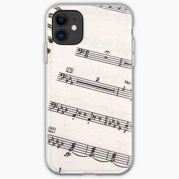 Bass Clef Music iPhone 4 Case iPhone Soft Case