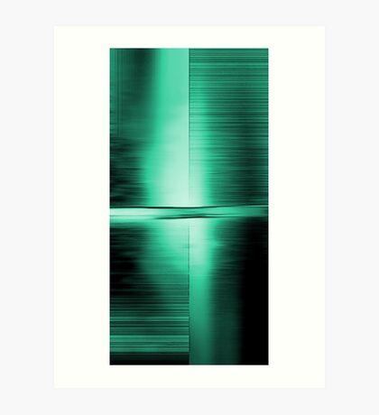 Shimmering Green Art Print