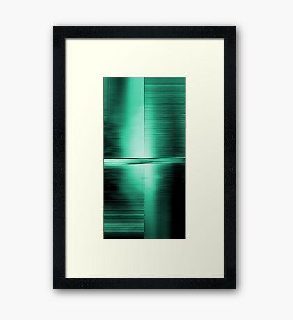 Shimmering Green Framed Print