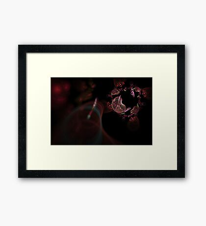 Out of Focus Framed Print