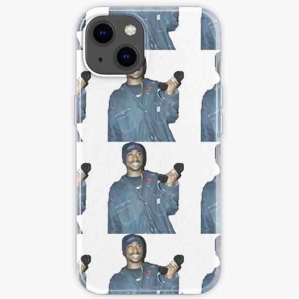 Tupac einfaches Foto iPhone Flexible Hülle