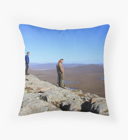 Surveying the Conditions Throw Pillow
