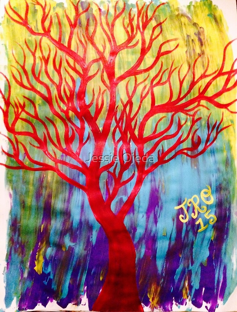 Tree Color Blast by Jessie Ojeda