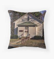 Quaint Country Church Throw Pillow