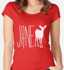 Max's Shirt - Jane Doe  Women's Fitted Scoop T-Shirt