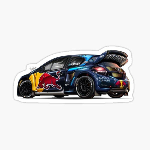La Peugeot 208 WRX de Timmy Hansen Sticker