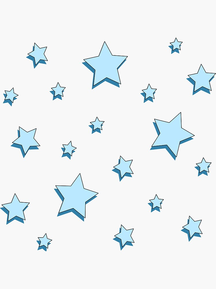 Pastell Blue Stars Pack von alexis000