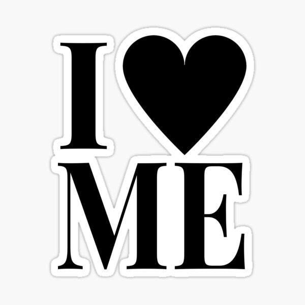 I LOVE ME - demi Sticker