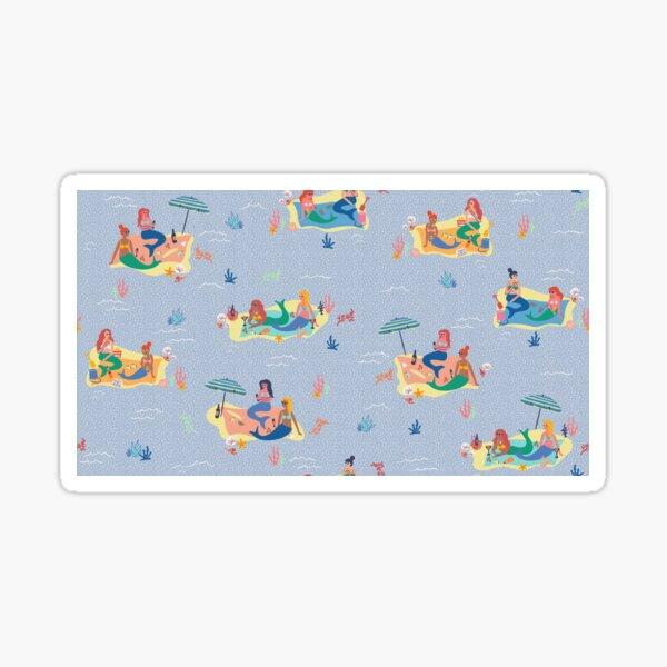 Mermaids picnic Sticker